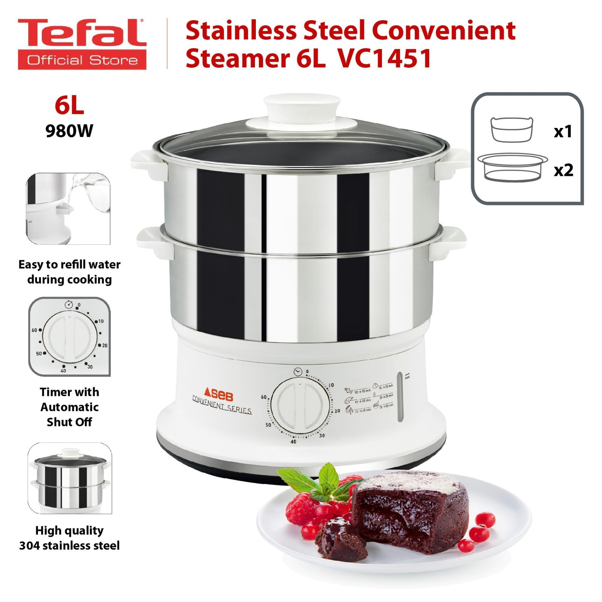 Tefal Convenient Stainless Steel Steamer